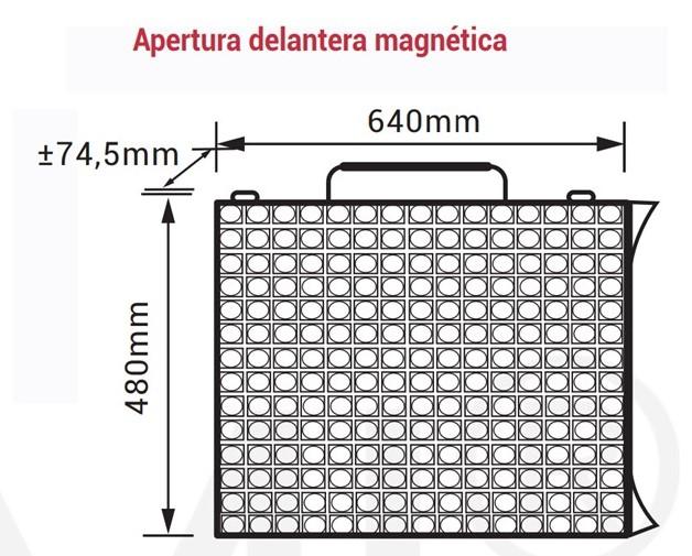 modulo pantalla led p1,53
