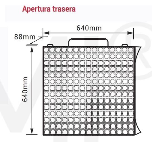 modulo pantalla led p2,5