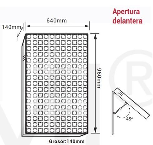 Pantalla FULL COLOR P5 Exterior IP54 Ref 292945