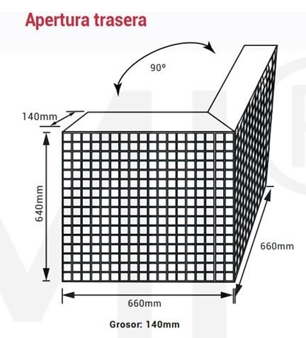 PANTALLA FULL COLOR P8 EXTERIOR ESQUINA IP54 REF 292981
